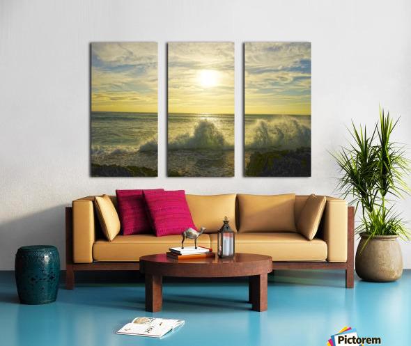 Swirl Split Canvas print