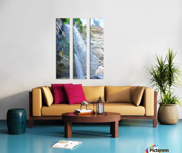 Canyon Split Canvas print