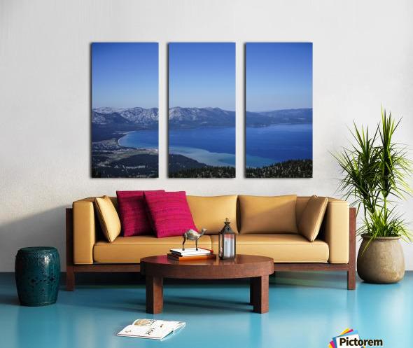 Lake Tahoe View Split Canvas print