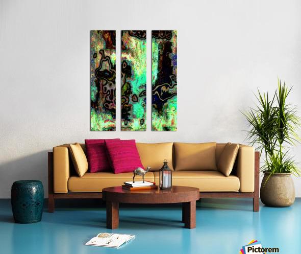 Mossi Split Canvas print