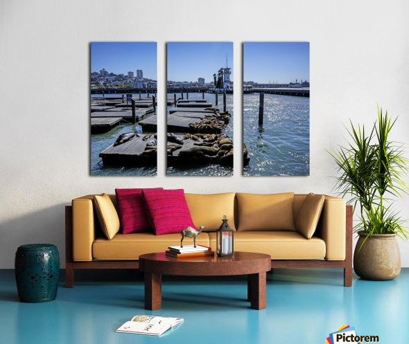 The Wharf @ San Francisco Split Canvas print
