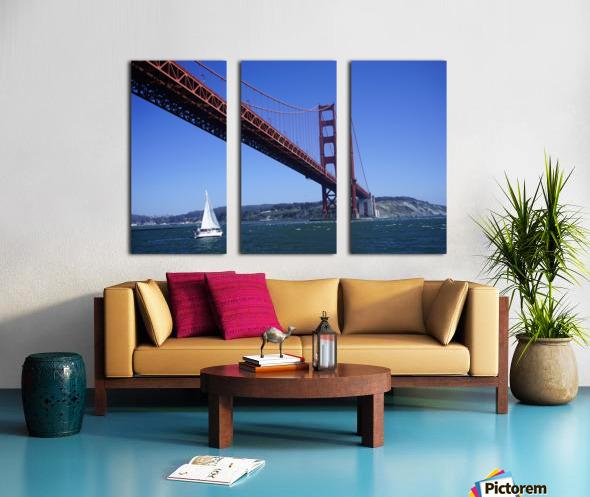 Golden Gate Bridge Split Canvas print