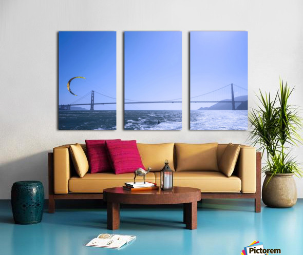 Wind Surf the Bay @ San Francisco Split Canvas print