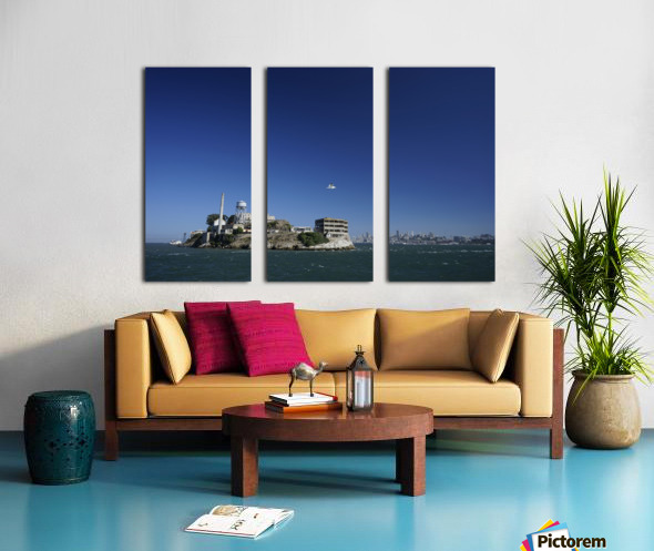 Alcatraz   The Rock @ San Francisco Bay Split Canvas print