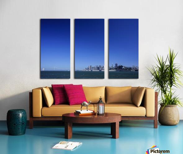 The Bay @ San Francisco Split Canvas print