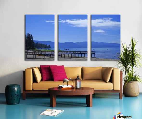 Spring at Lake Tahoe 1 of 7 Split Canvas print
