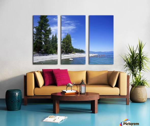 Spring at Lake Tahoe 2 of 7 Split Canvas print