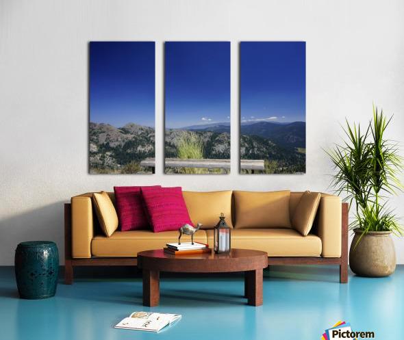 Open Seating Split Canvas print