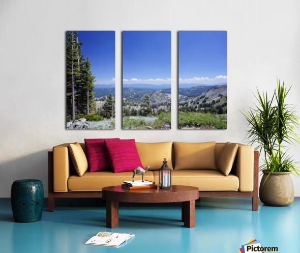 Sierra Nevada in Spring 2 of 8 Split Canvas print