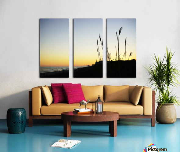 Atlantic Sunset @ Myrtle Beach Split Canvas print