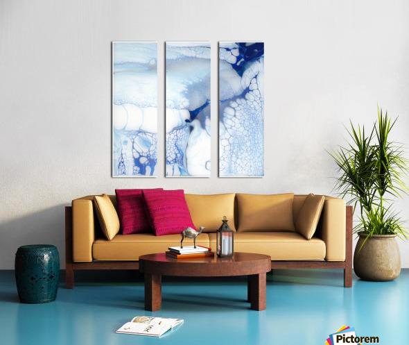 The Undoing Split Canvas print