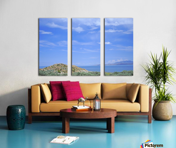 The Great Salt Lake 2 of 7 Split Canvas print