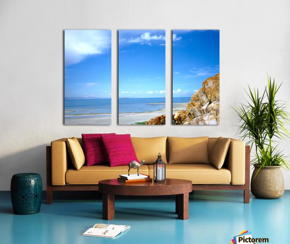 The Great Salt Lake 4 of 7 Split Canvas print