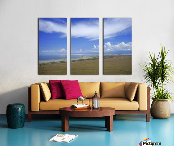 The Great Salt Lake 7 of 7 Split Canvas print