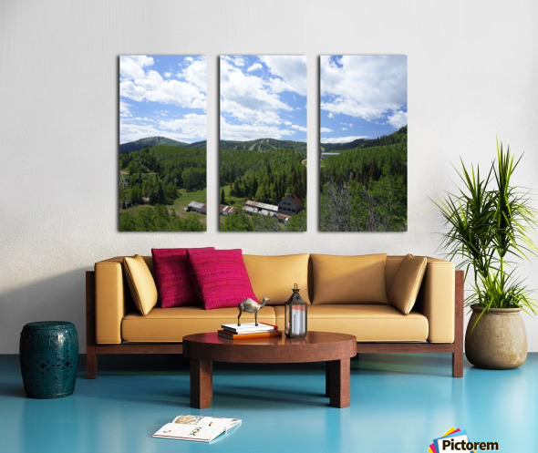 Back Country Utah 1 of 6 Split Canvas print