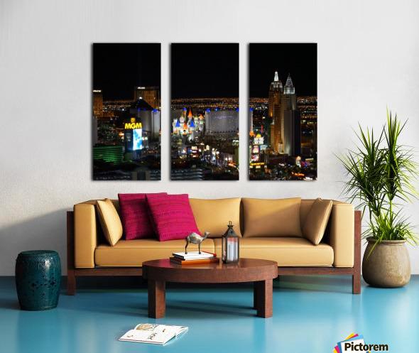 Viva Las Vegas Split Canvas print