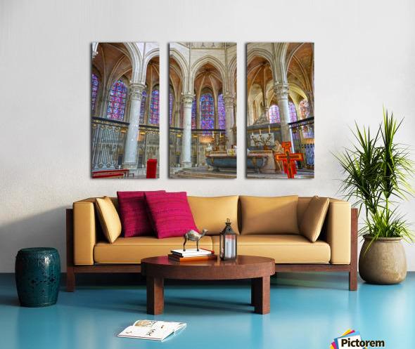 Immortal Cathedrale Saint Etienne 5 of 6 Split Canvas print