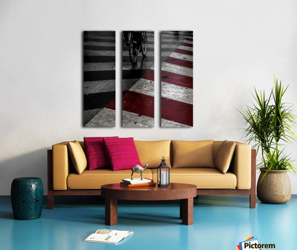 DirtY ReD by Gilbert Claes  Split Canvas print