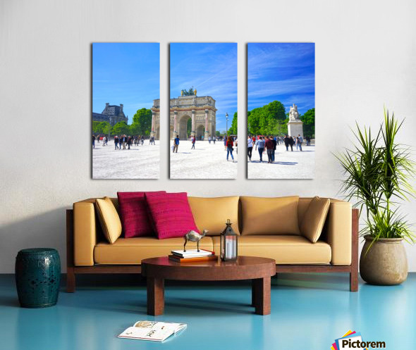 Immortal Paris 6 of 7 Split Canvas print