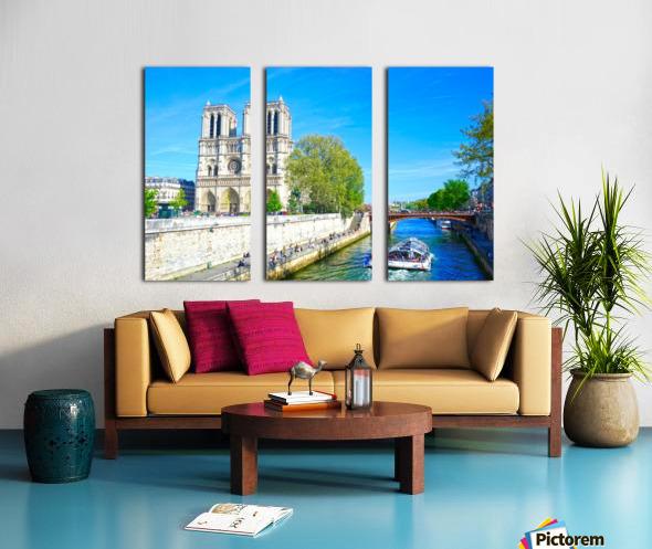 Paris Snapshot in Time 8 of 8 Split Canvas print