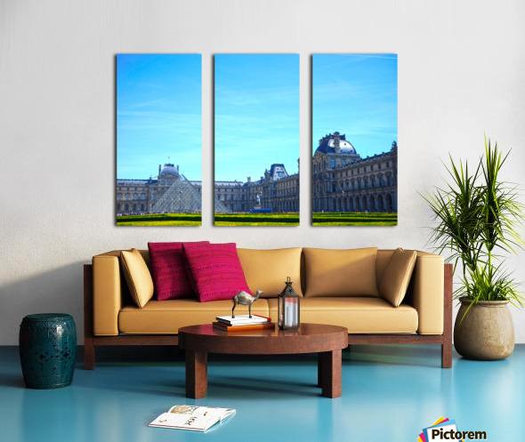 Paris Snapshot in Time 1 of 8 Split Canvas print