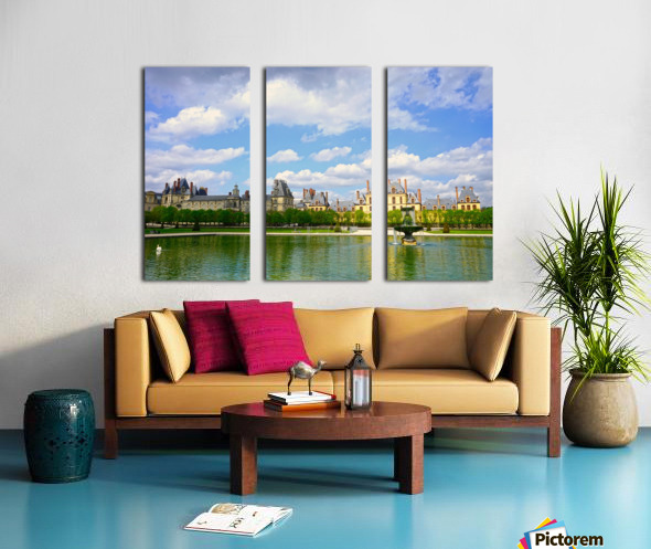 Chateaus of France 4 Split Canvas print