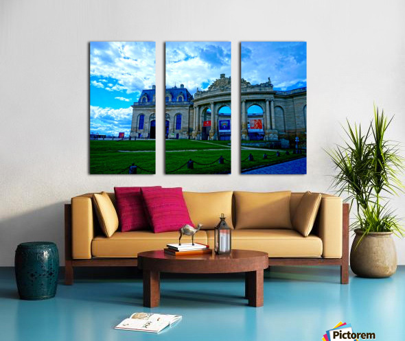 Chateaus of France 8 Split Canvas print