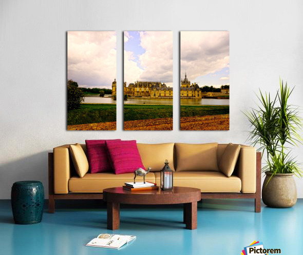 Chateaus of France Split Canvas print