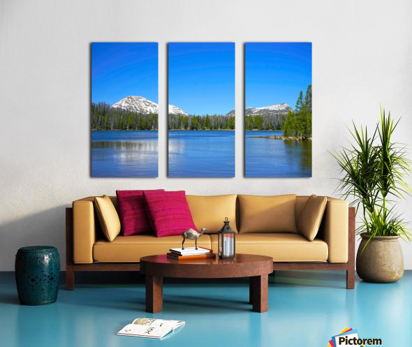 Mirror Lake Split Canvas print