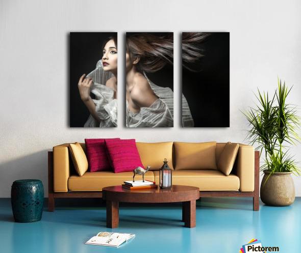 Breezin' Split Canvas print