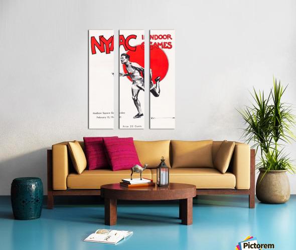 1941 New York Indoor Games Split Canvas print