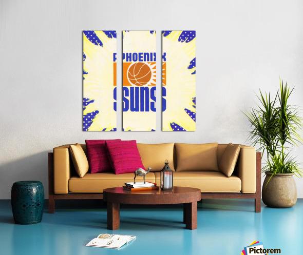 1988 Phoenix Suns Art Split Canvas print