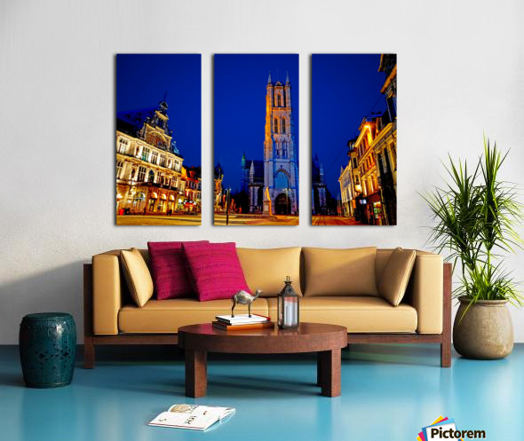Beautiful Belgium 2 of 7 Split Canvas print