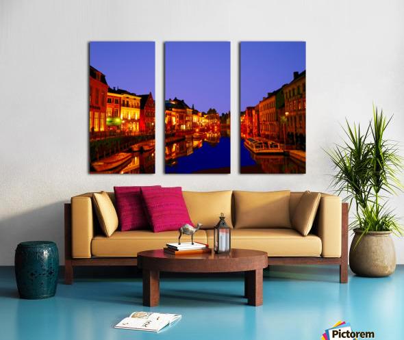 Beautiful Belgium 6 of 7 Split Canvas print