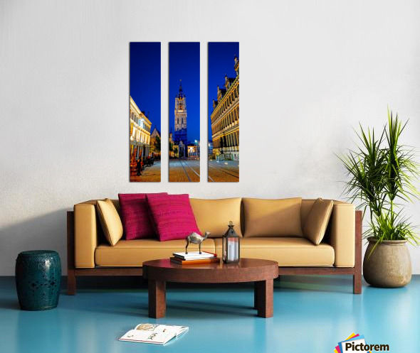 Beautiful Belgium 4 of 7 Split Canvas print