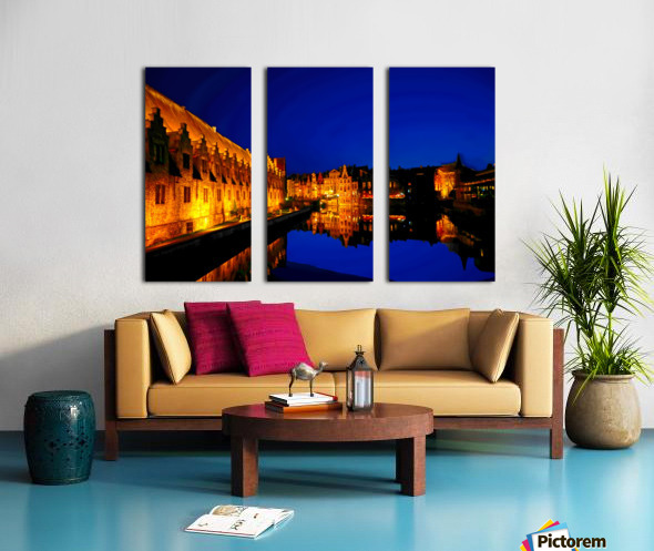 Beautiful Belgium 5 of 7 Split Canvas print