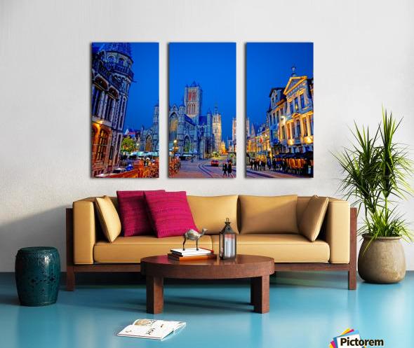 Beautiful Belgium 1 of 7 Split Canvas print