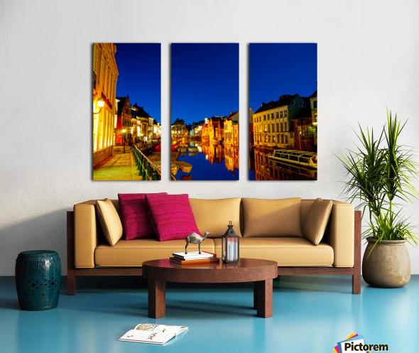 Beautiful Belgium 7 of 7 Split Canvas print