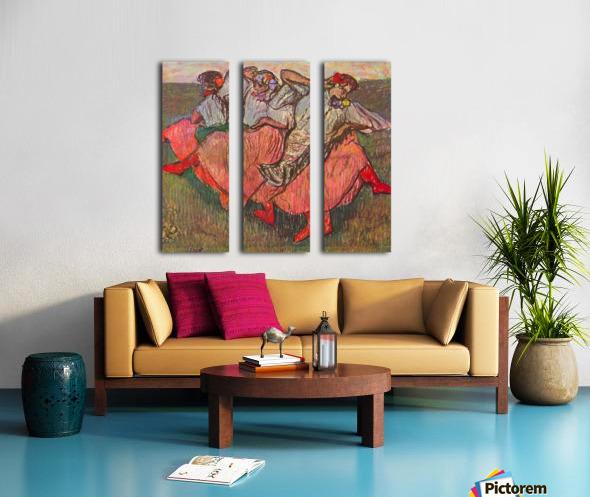 Russian Dancers by Degas Split Canvas print