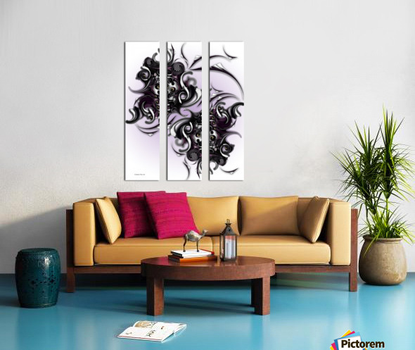 My Architectonic Illumination Split Canvas print