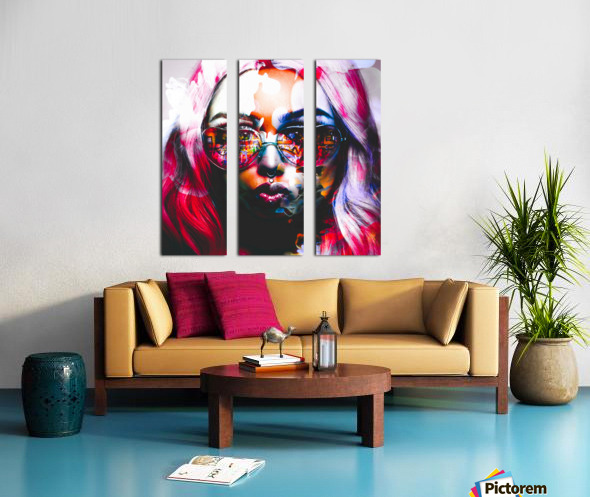 PICAZO  Split Canvas print
