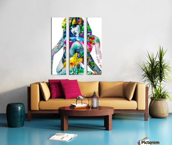 SUZANNE  Split Canvas print