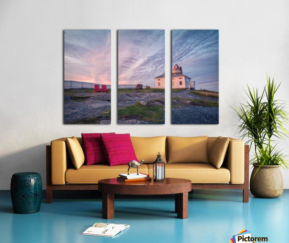 Cape Spear Sunrise Split Canvas print