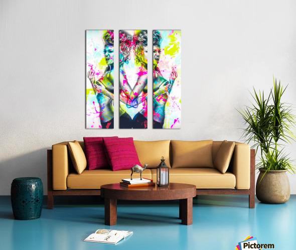 F_ck Split Canvas print