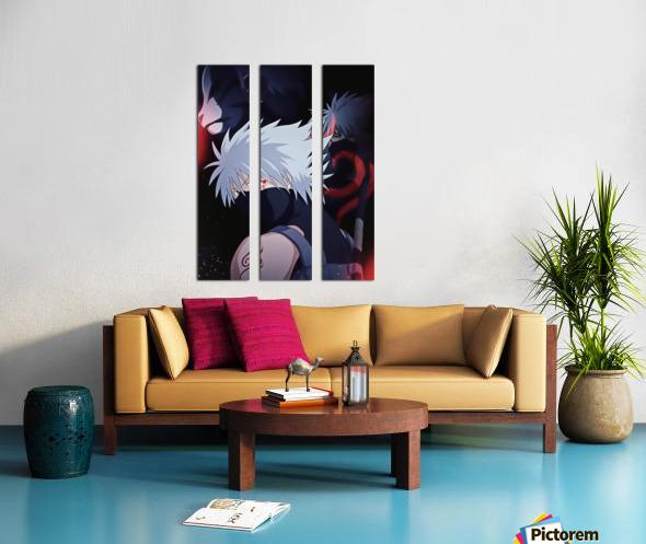 Naruto Split Canvas print