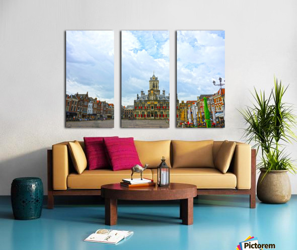A Dream of the Netherlands 2 of 4 Split Canvas print