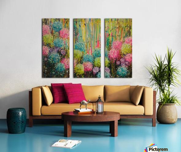Flower Candy  Split Canvas print