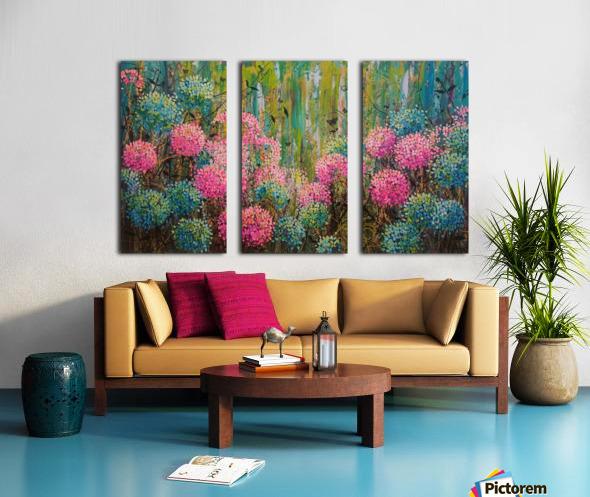 Simple Abundance Split Canvas print
