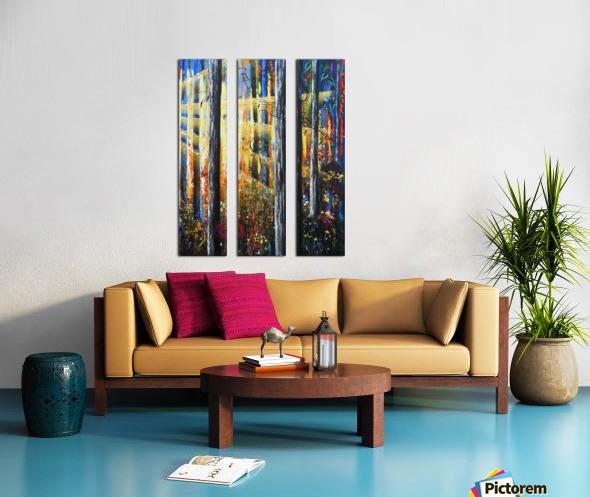 ascension 2 Split Canvas print