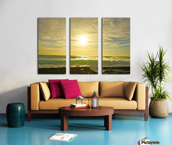 Splash Split Canvas print